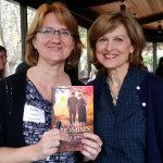 Author Leslie Gould with Lindy Jacobs (photo courtesy of Julie Zander)
